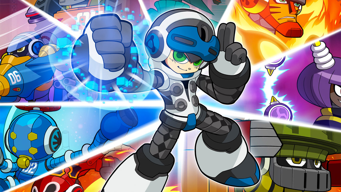 Mighty No. 9's hero looks a little less like Mega Man now