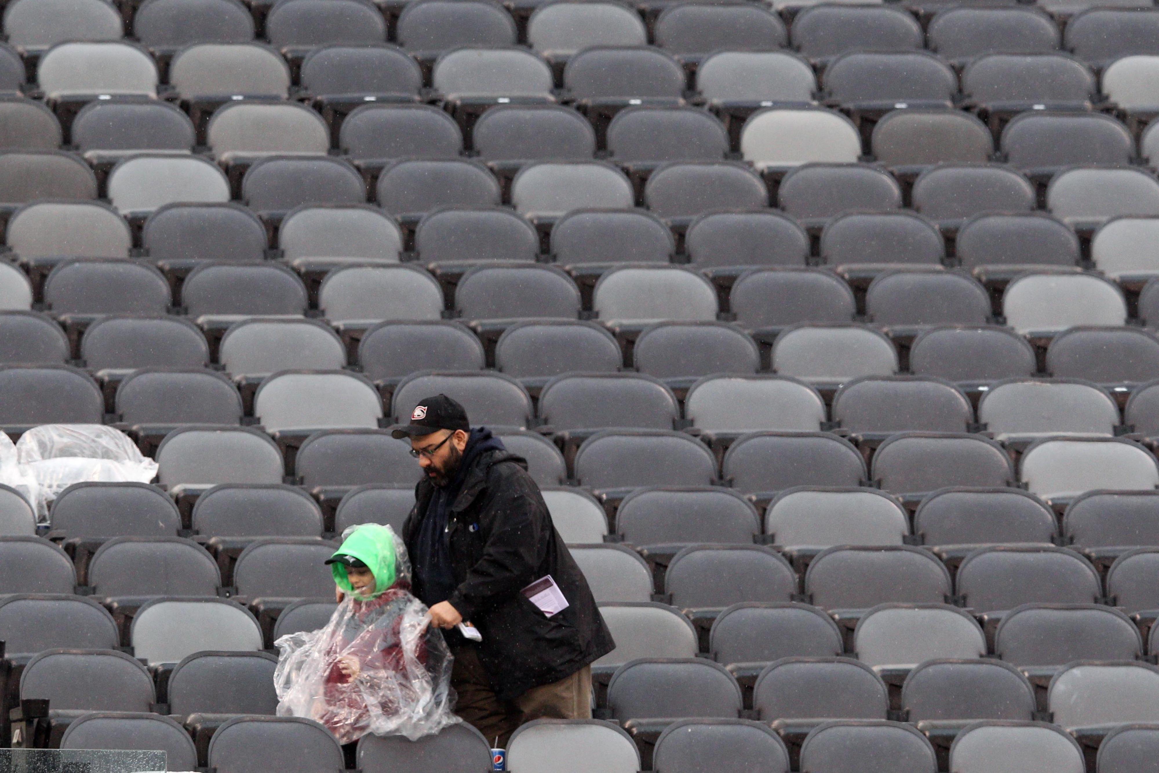 Empty seats, like these last year vs. Washington, is something John Mara is hoping not to see on Sunday.