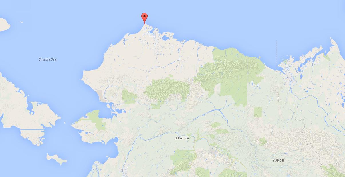 The Alaska high school team that's so far north, it loses footballs in the Arctic Ocean