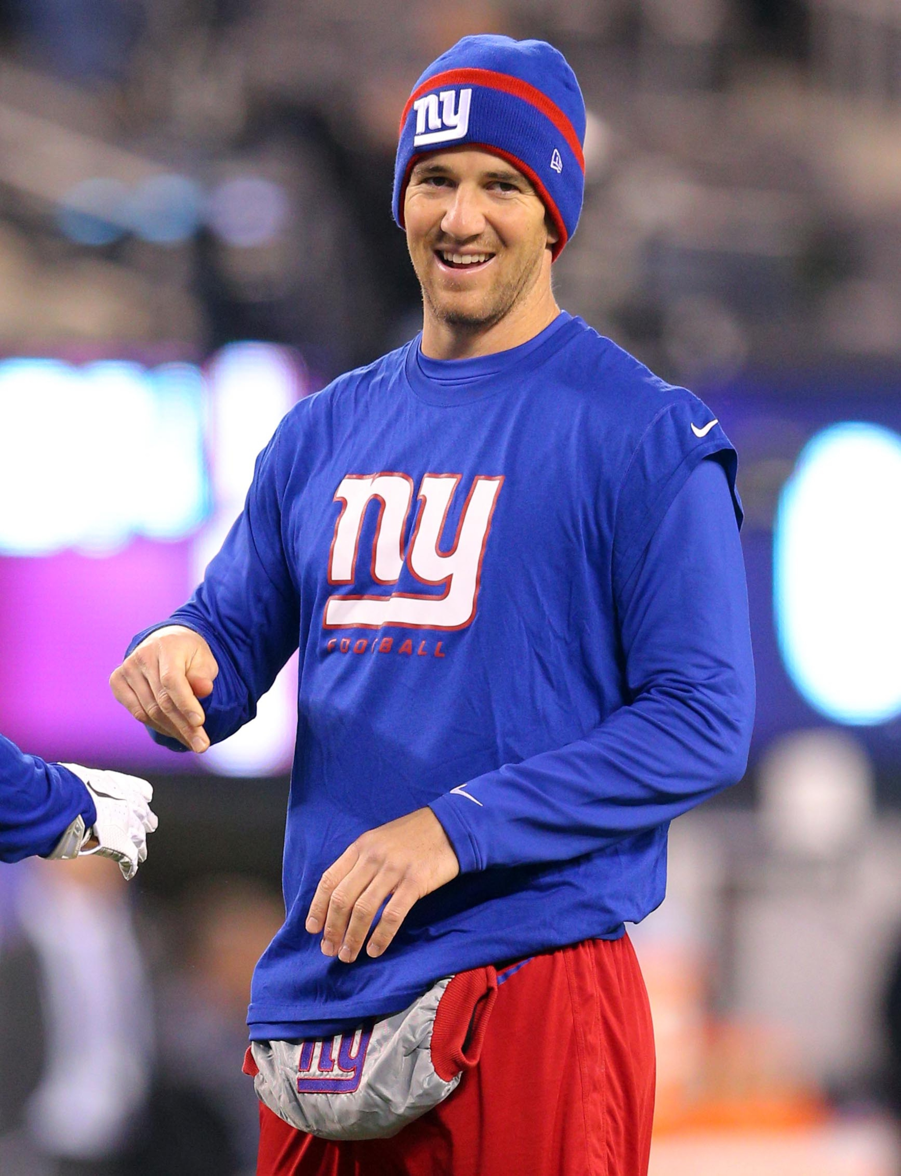 Will Eli and the Giants be smiling Sunday afternoon?