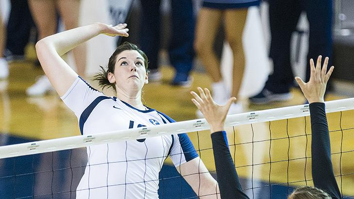 Amy Boswell led the Cougars to a win over San Diego