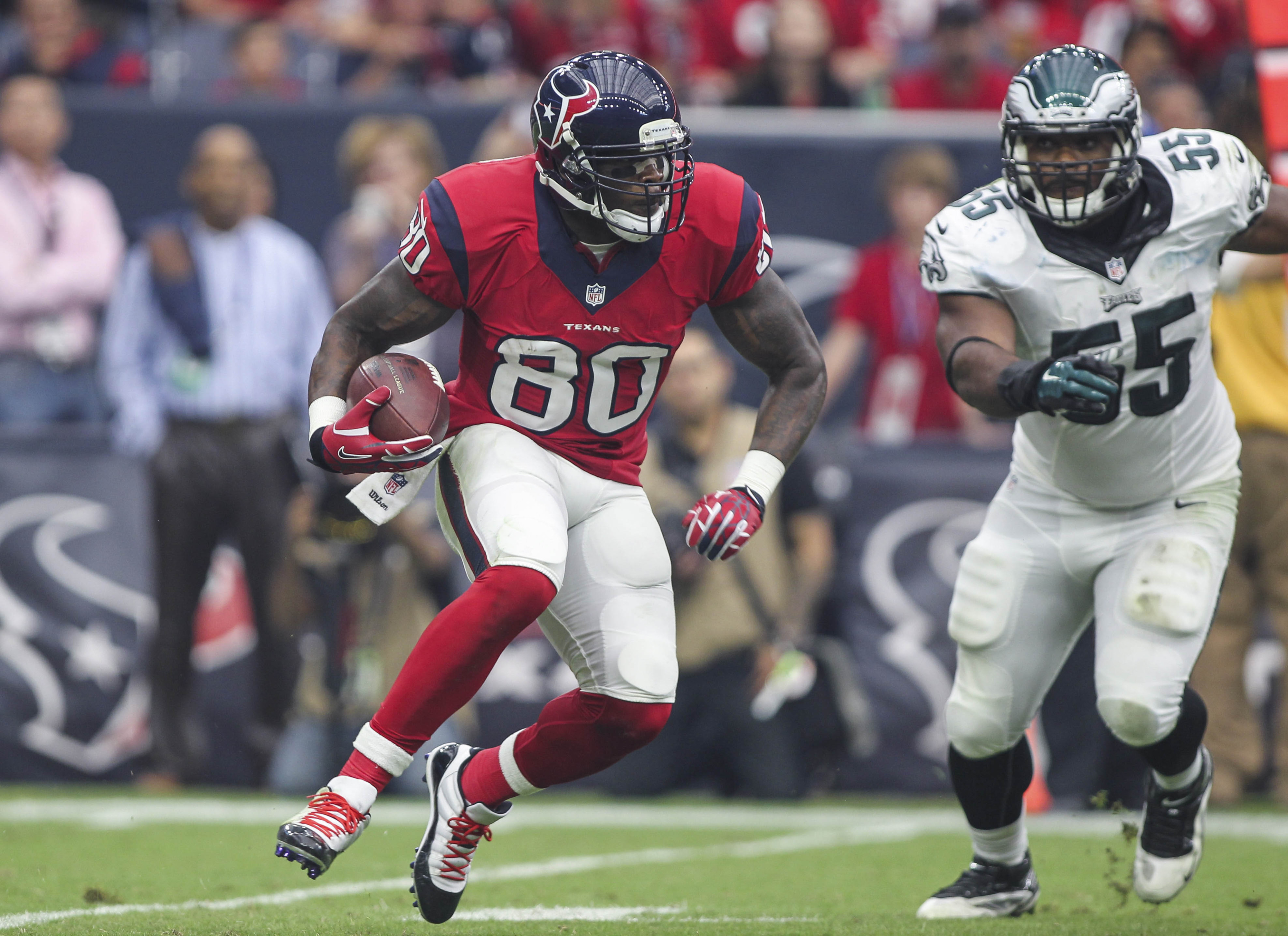 Will a change at QB make a big difference to Andre Johnson?