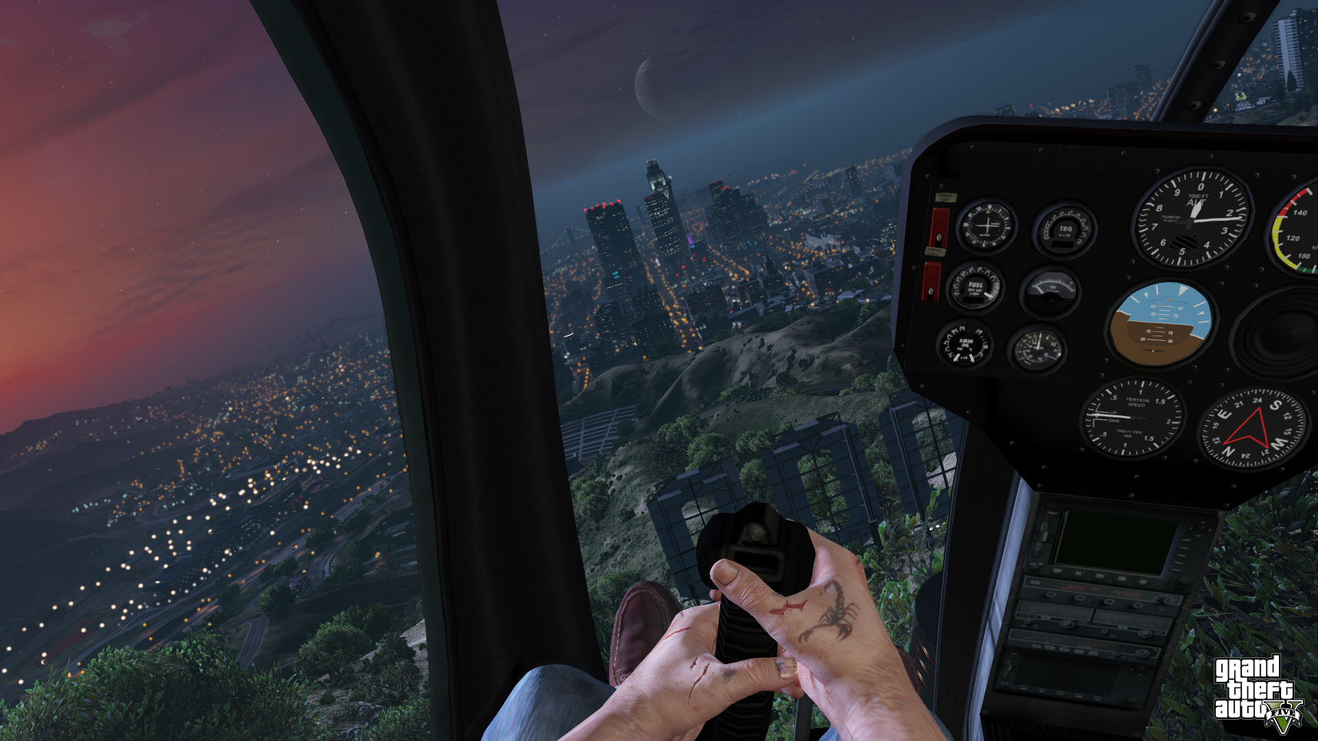 Grand Theft Auto V' in first person is absolutely nuts - The