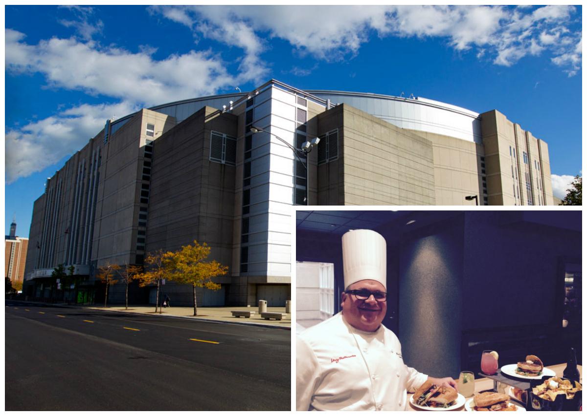 United Center Executive Chef Michael Arcomone