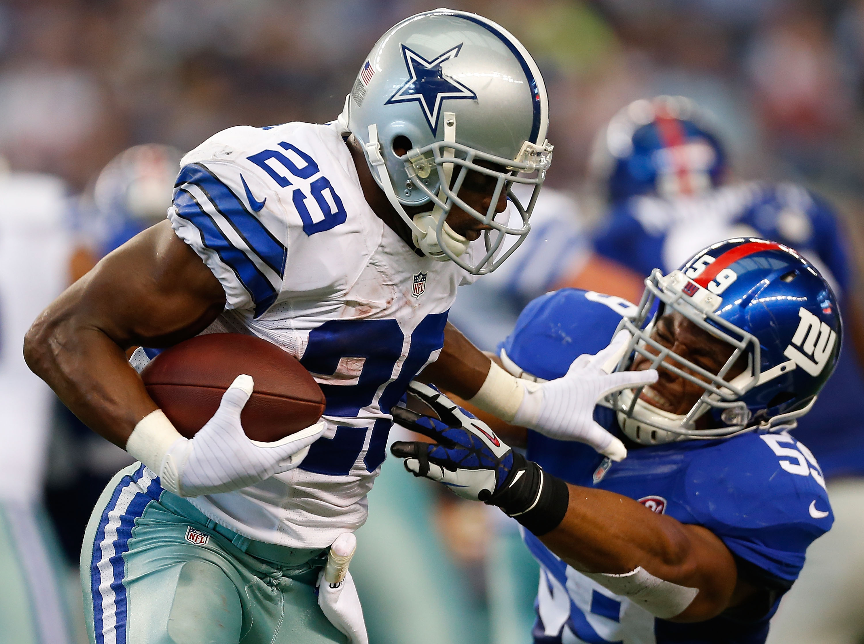 The Giants couldn't handle DeMarco Murray in their first meeting. Can they handle him this time?