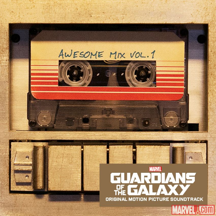 Guardians of the Galaxy's awesome mix tape is free right now