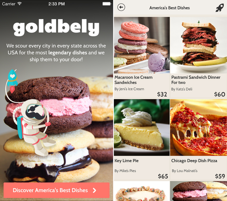 Delivery Service Goldbely Launches App; Truffle Day at Eataly