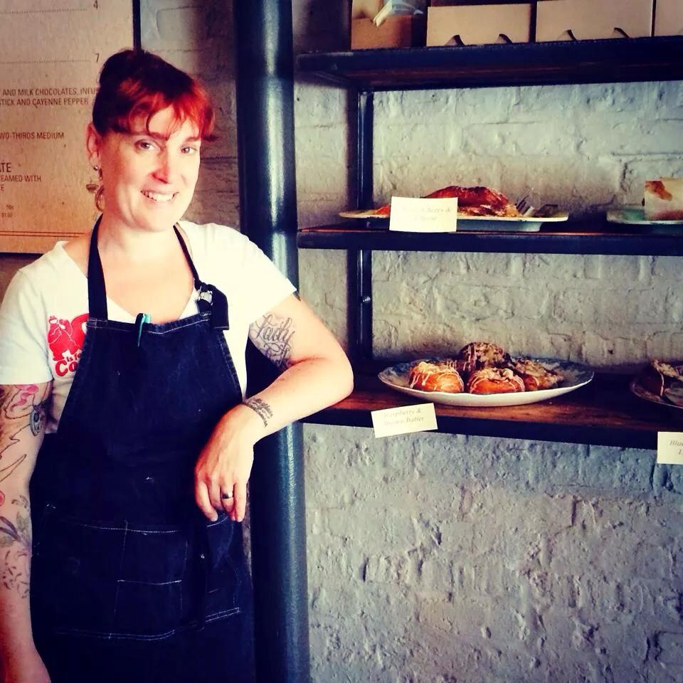 Mindy Segal and her bakery items
