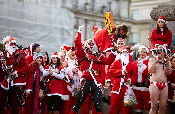 SantaCon Organizers Give Up on Bushwick After Almost Everyone Bans Drunk Santas