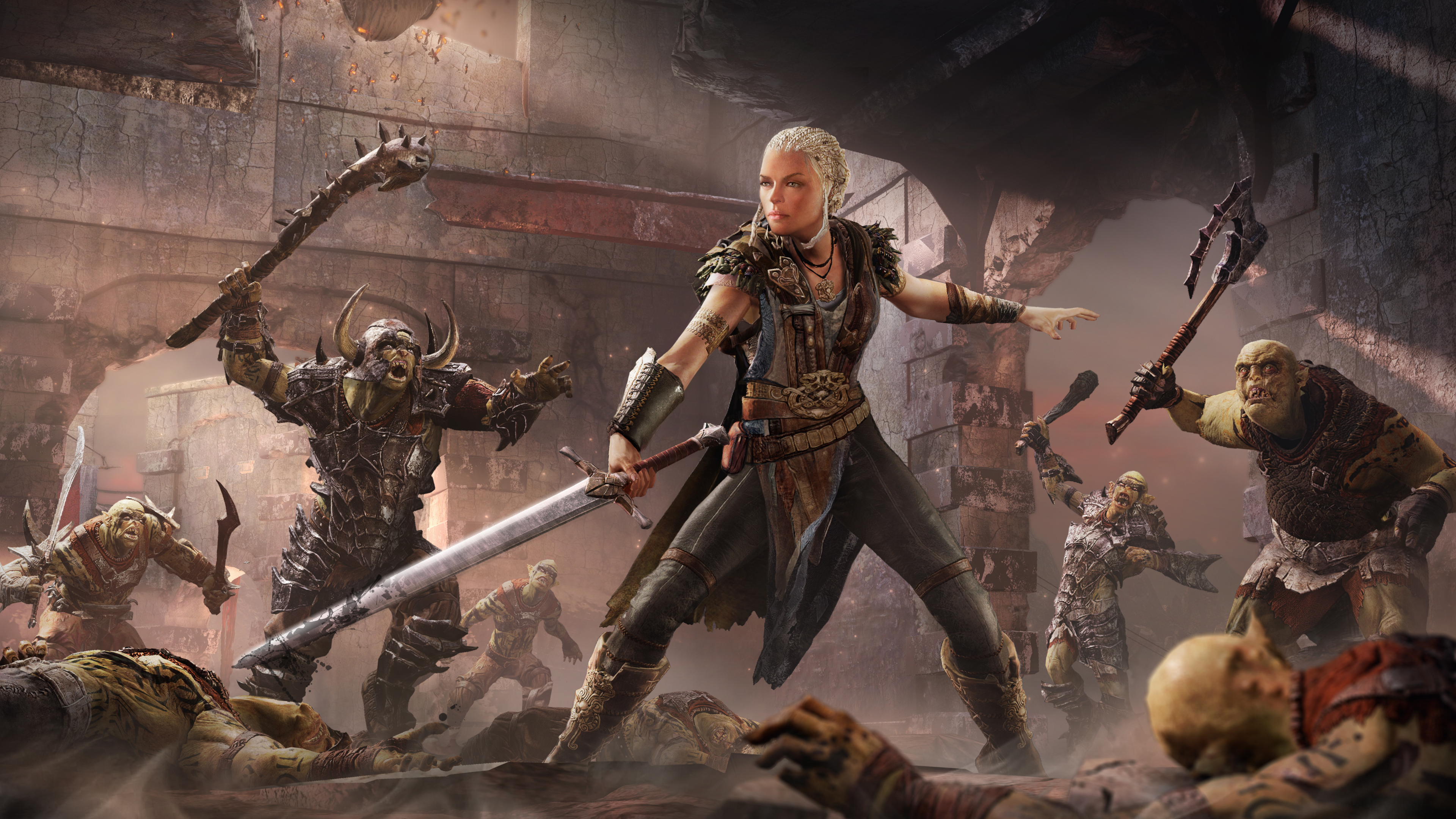 Play Middle-earth: Shadow of Mordor as a woman
