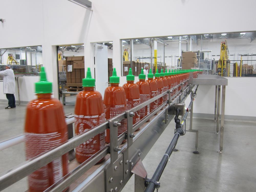 Take a Tour of the Sriracha Factory in California