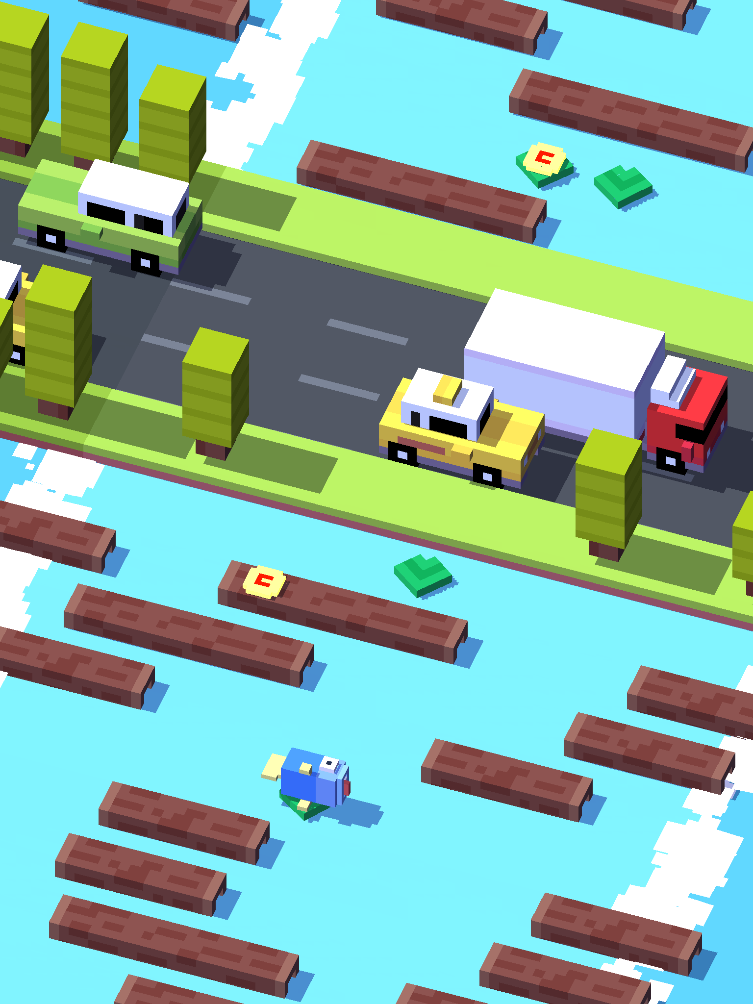 Crossy Road has invented the 'endless Frogger,' and it's brilliant