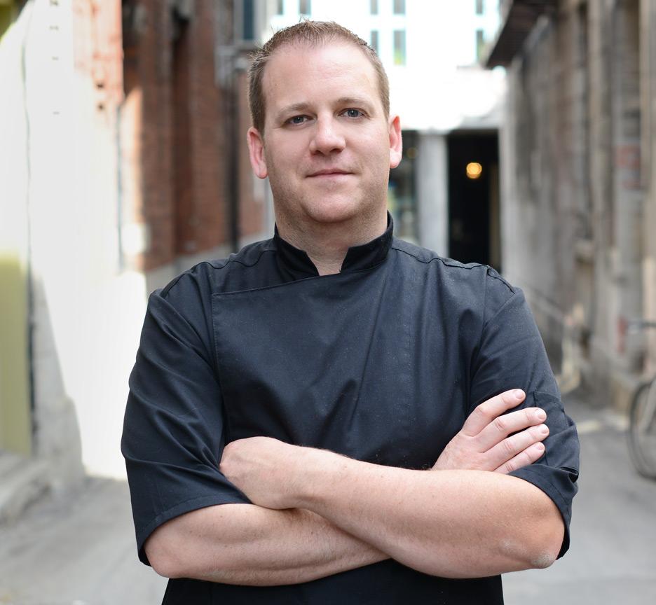 Chef Cédric Deslandes