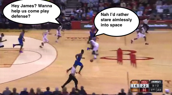 James Harden's poor defense continues to be hilarious