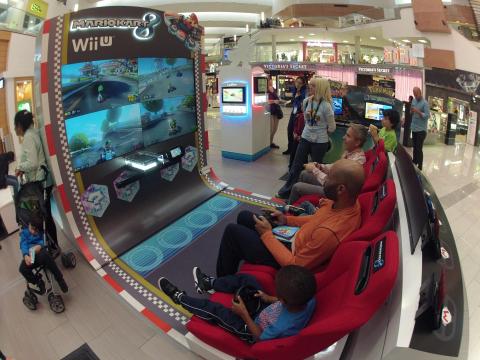 Nintendo turns Mario Kart 8 into an arcade machine, takes it on the road