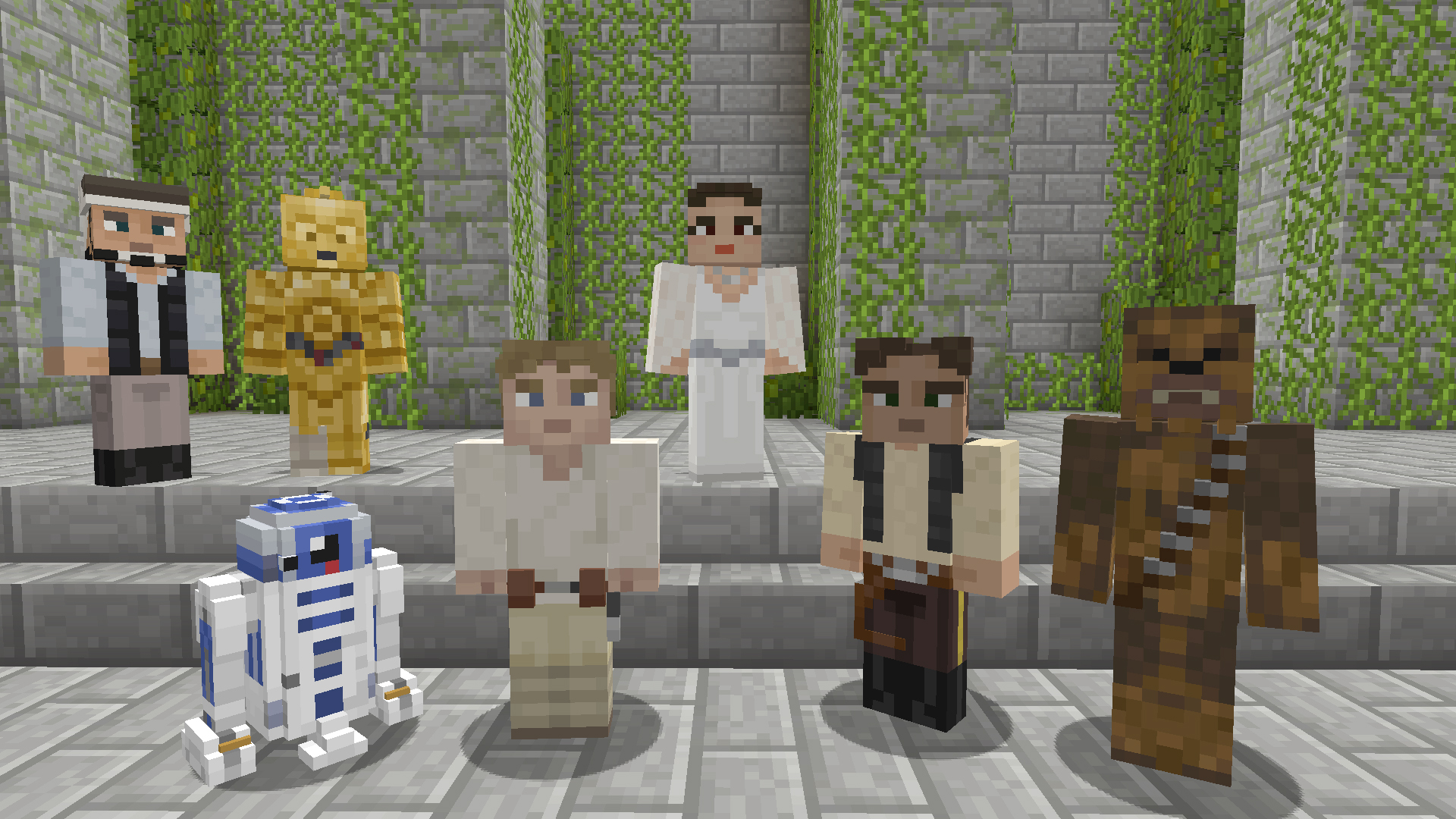 Star Wars comes to Minecraft on Xbox