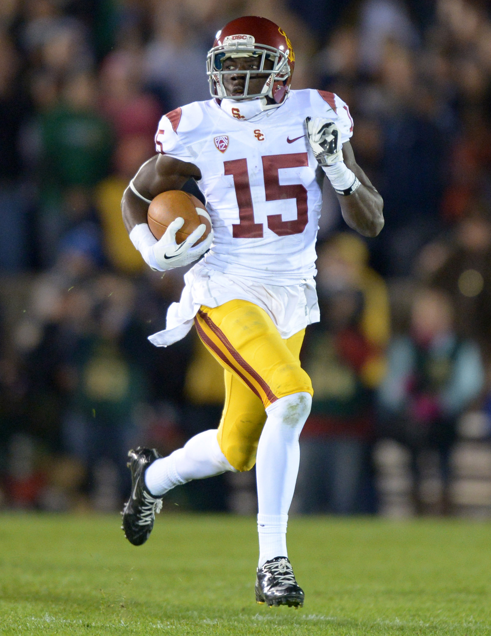 Expect Nelson Agholor to be a heavy piece of the offense.