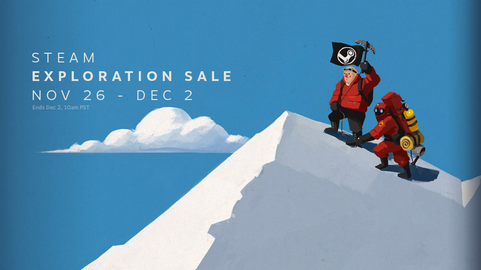 Steam's big holiday sale is live