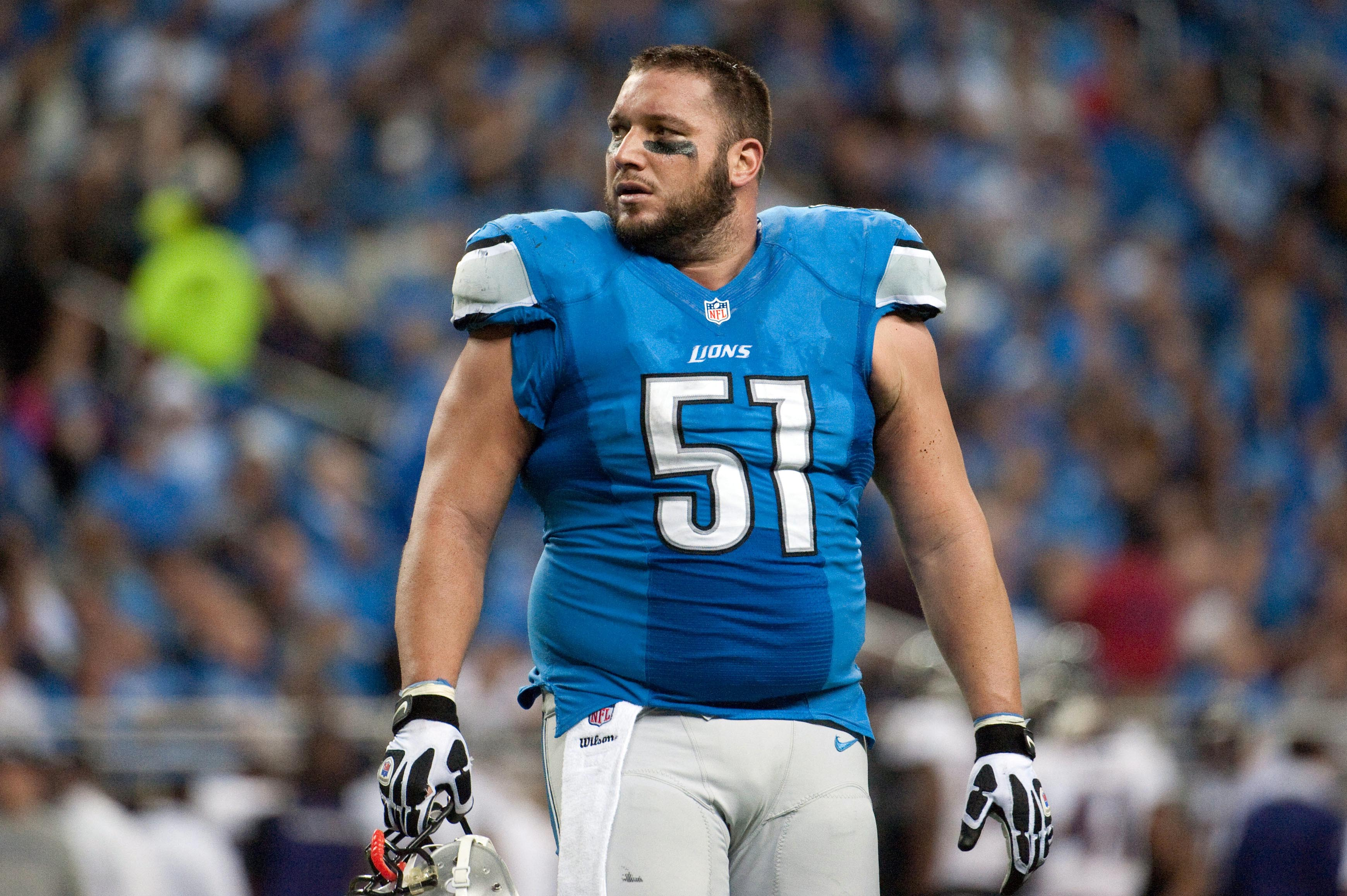 Dominic Raiola fined $10k for unnecessary roughness