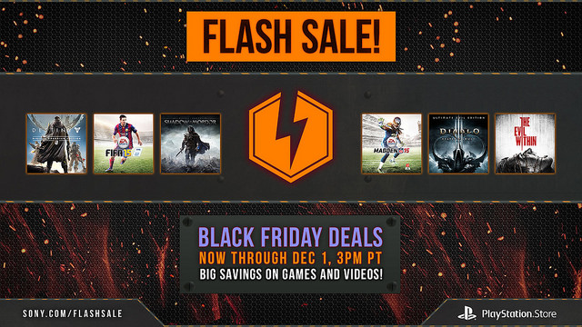 Sony's Black Friday PlayStation flash sale goes live