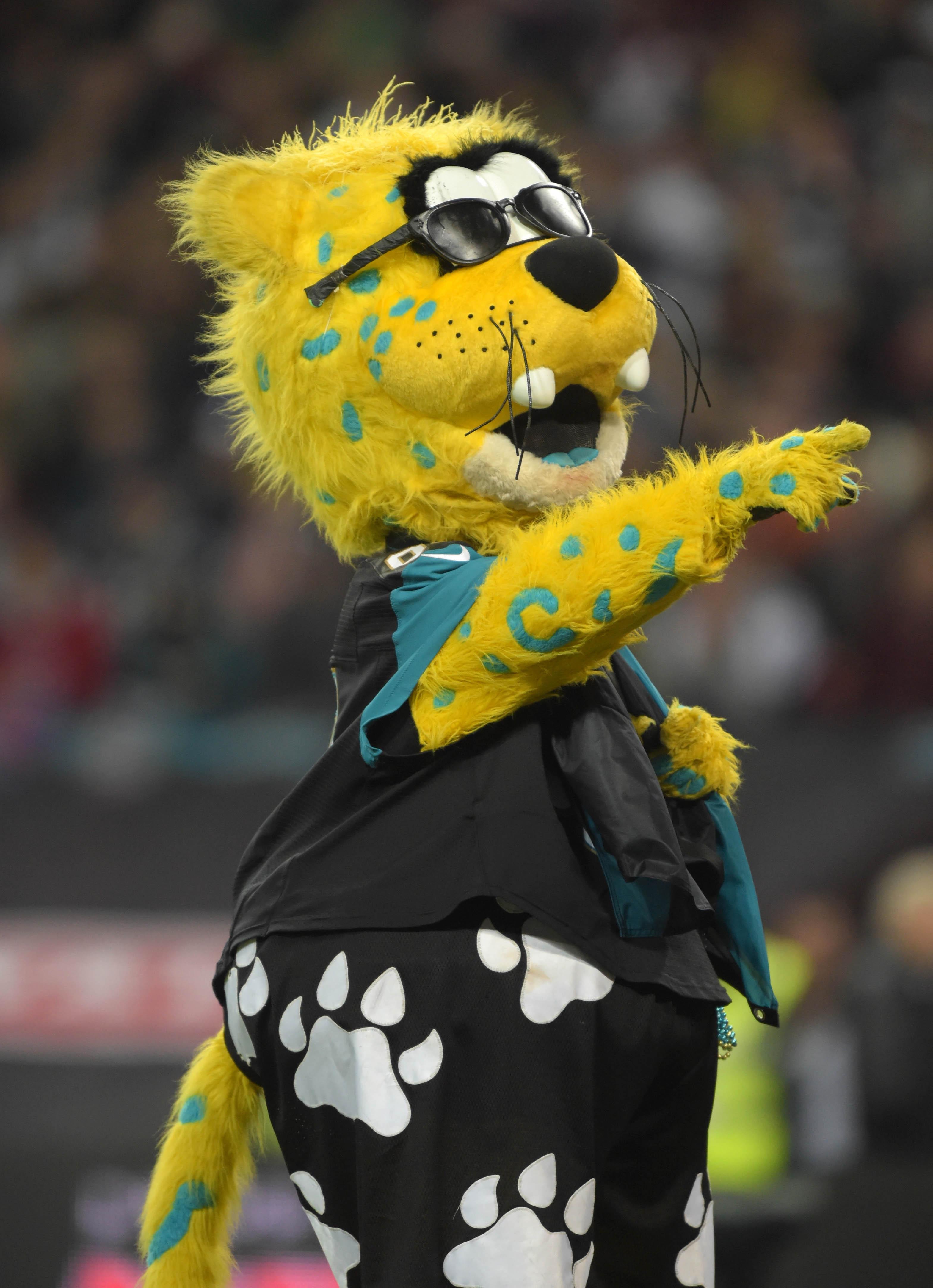 Jaxson, the Jaguars mascot