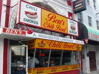 Ben's Chili Bowl.