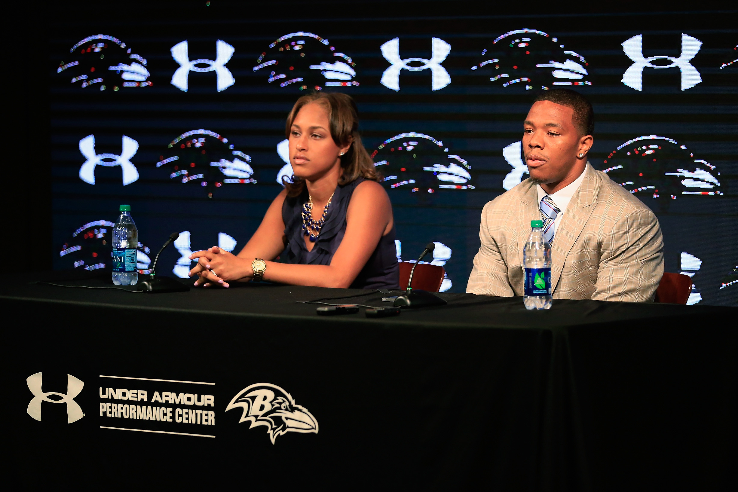 Janay Rice says Ravens scripted her press conference apology