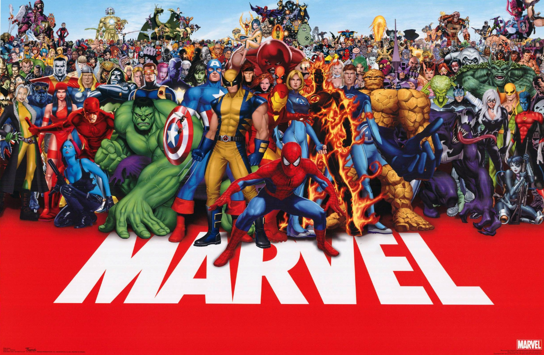 Read 75 years of Marvel comics for 75 cents