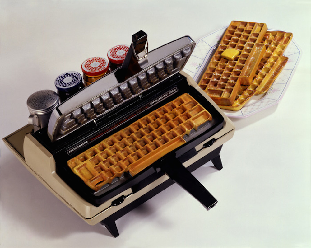 Keyboard Waffle Iron on Kickstarter