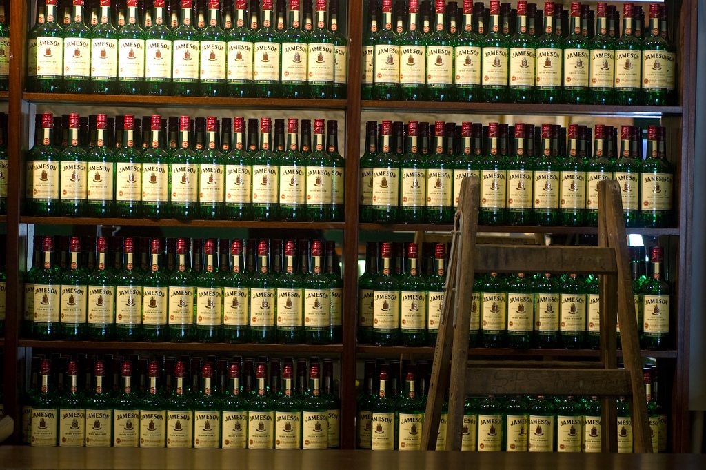 Thieves Steal 15,000 Bottles of Jameson During Warehouse Robbery