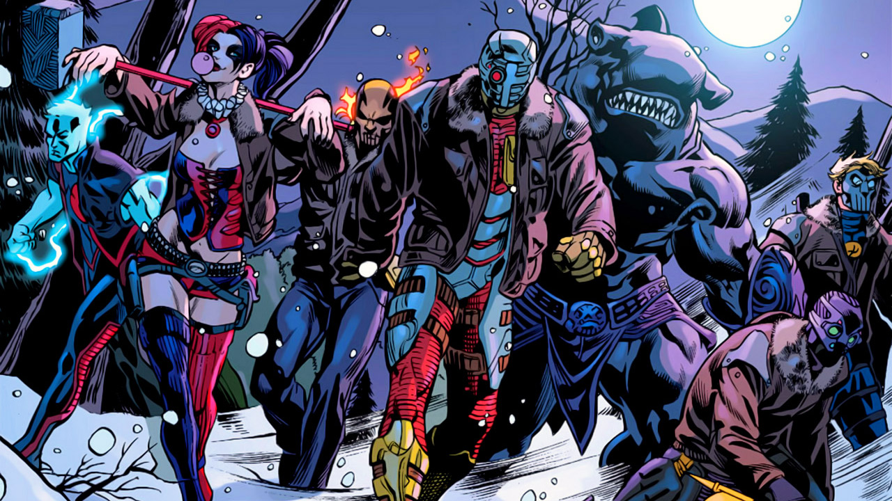 Jared Leto is The Joker, Will Smith is Deadshot in DC's Suicide Squad movie