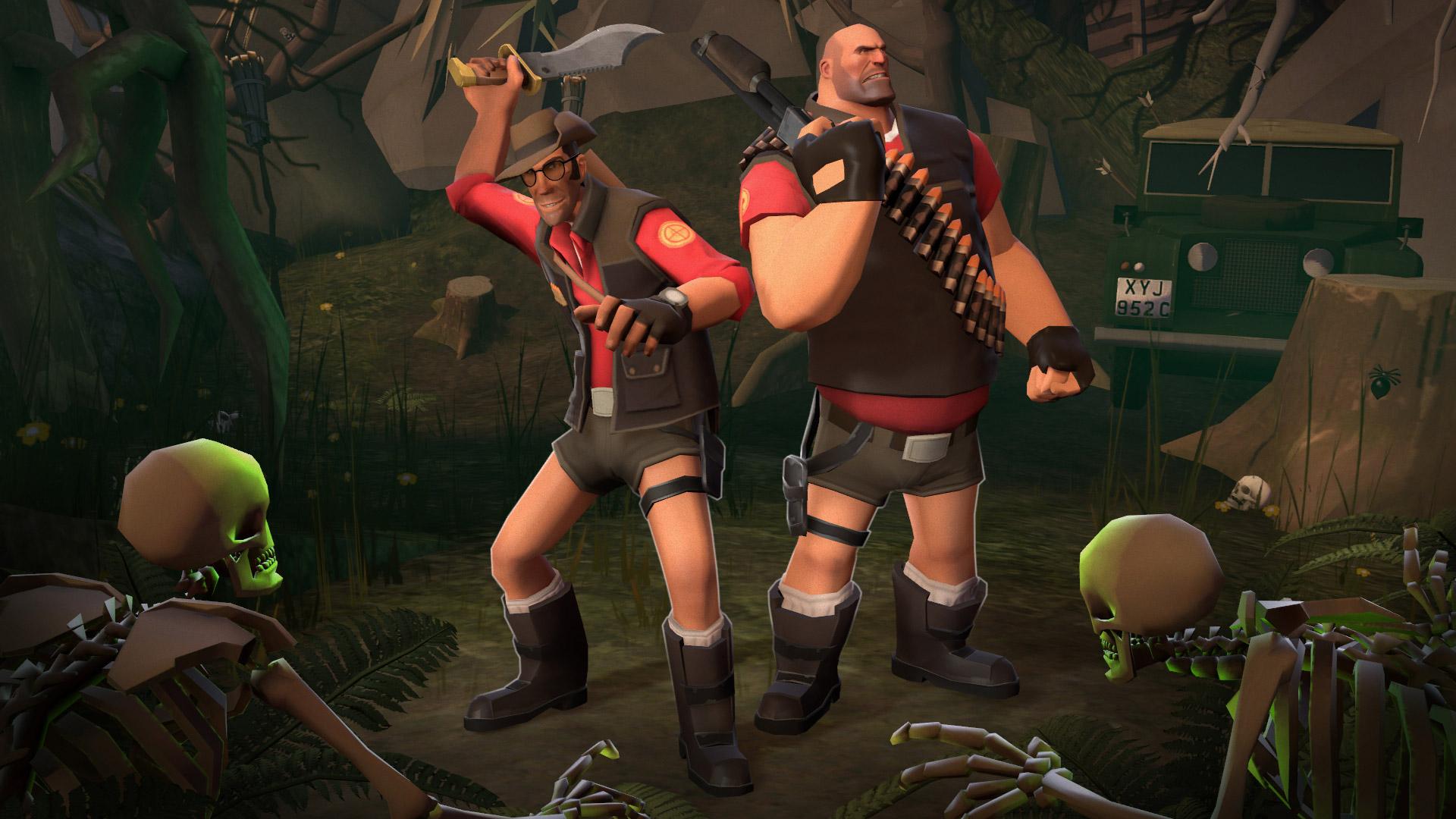 Lara Croft's short shorts are coming to Team Fortress 2