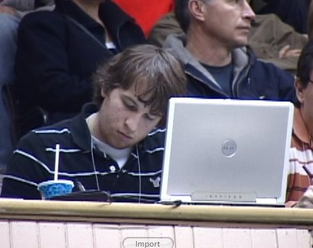 This man uses a Dell ... with pride!