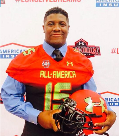 Former Penn State commit, Adam McLean, who recently committed to Maryland.