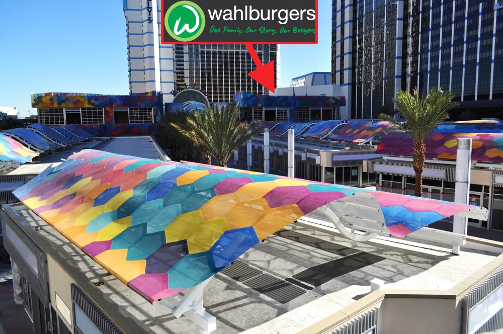 Wahlburgers location at the Grand Bazaar Shops