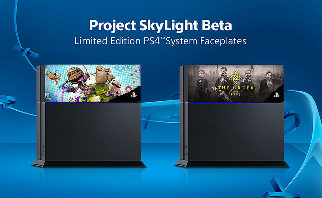 The PS4 brings back faceplates