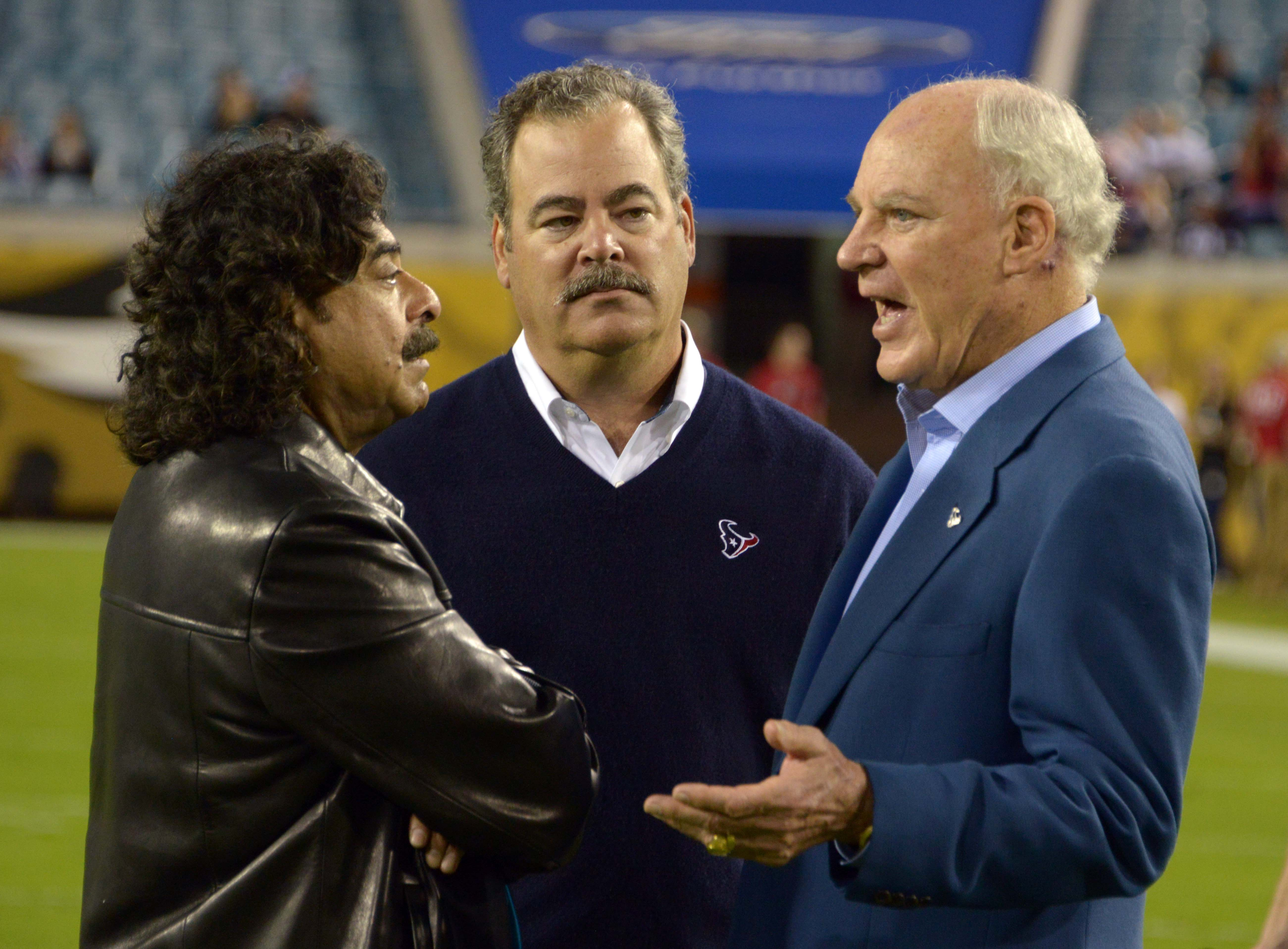 One of these owners has seen his team turn around. The other has the most magnificent mustache in the NFL.