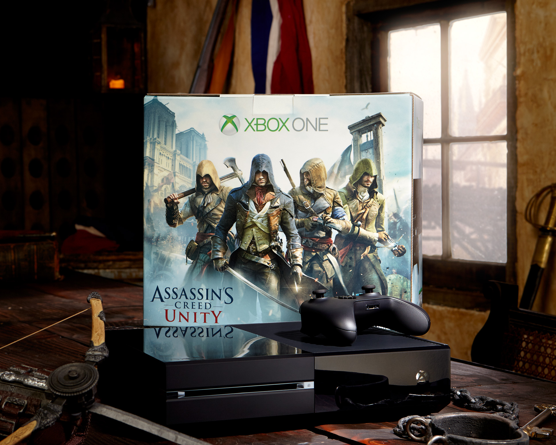 Microsoft sweetens Xbox One bundle deals with a free, big-name AAA game today