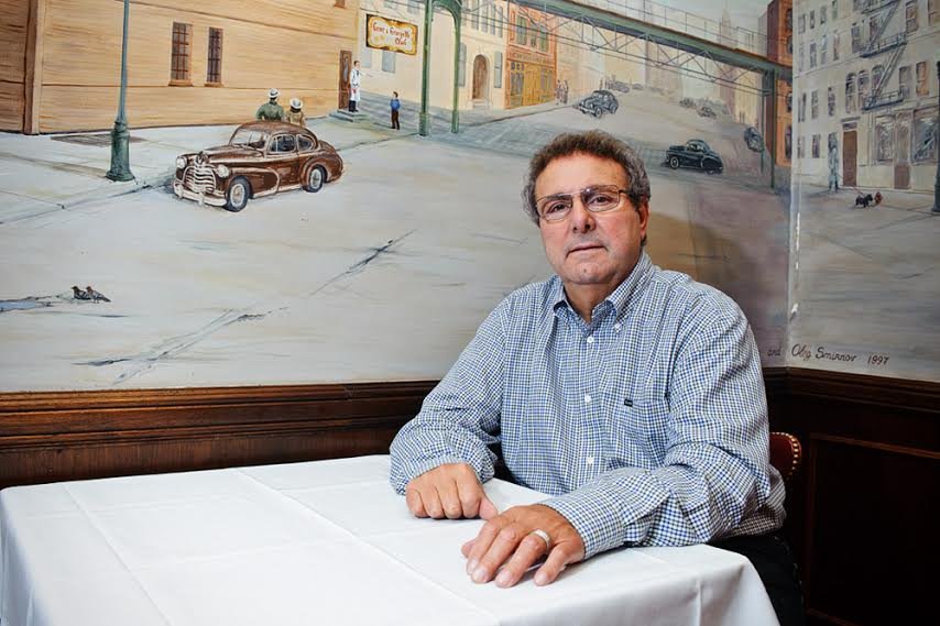 Owner Tony Durpetti poses in Gene & Georgetti's Chicago Room