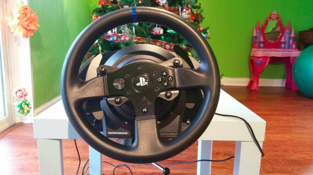 DriveClub is a better game with this $400 wheel, a $10 Ikea table and a ton of tape