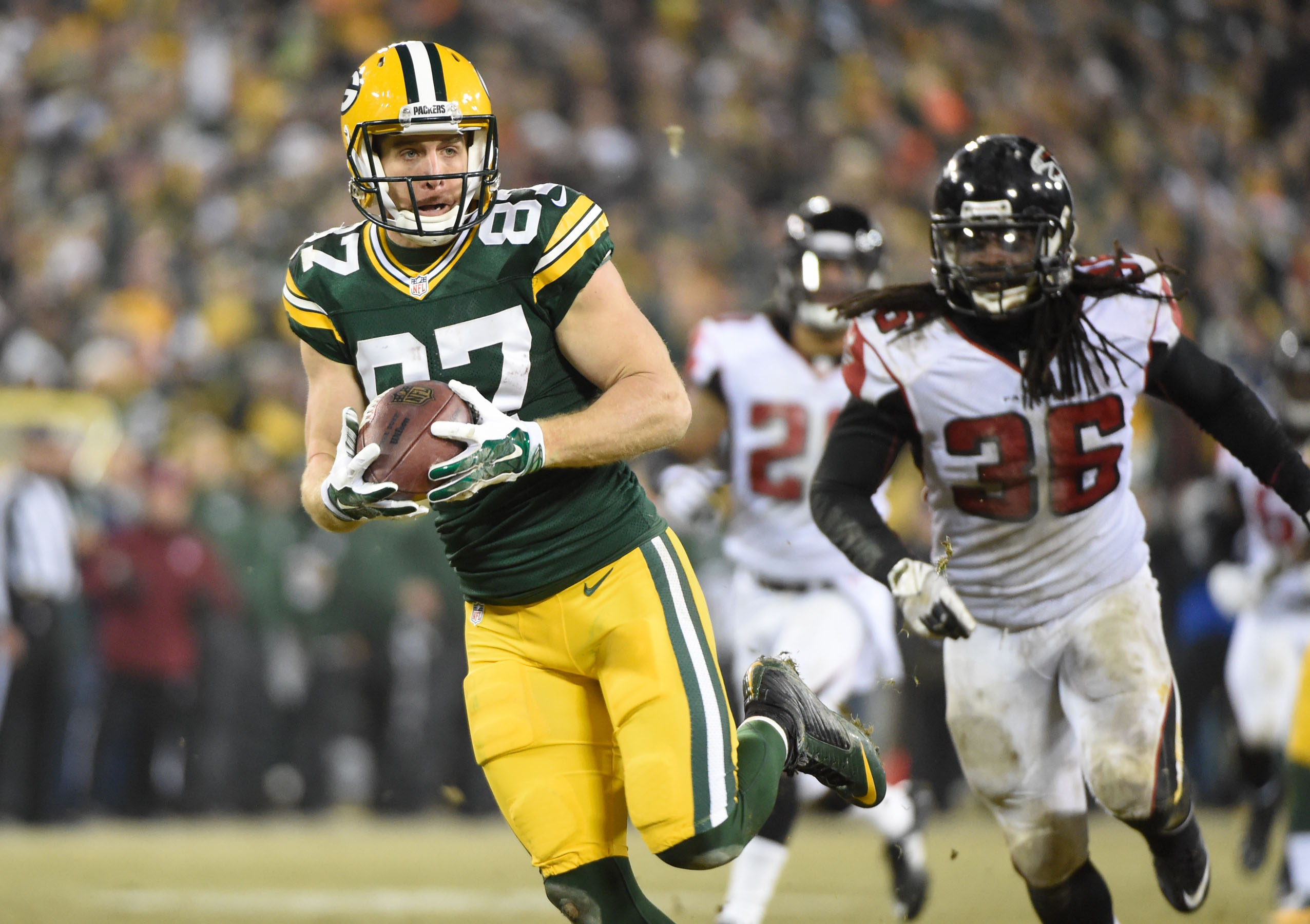 On a week where nearly every K-Stater in the NFL put up almost no statistics, Jordy Nelson's 146-yard, two-touchdown day stood out even more than usual.