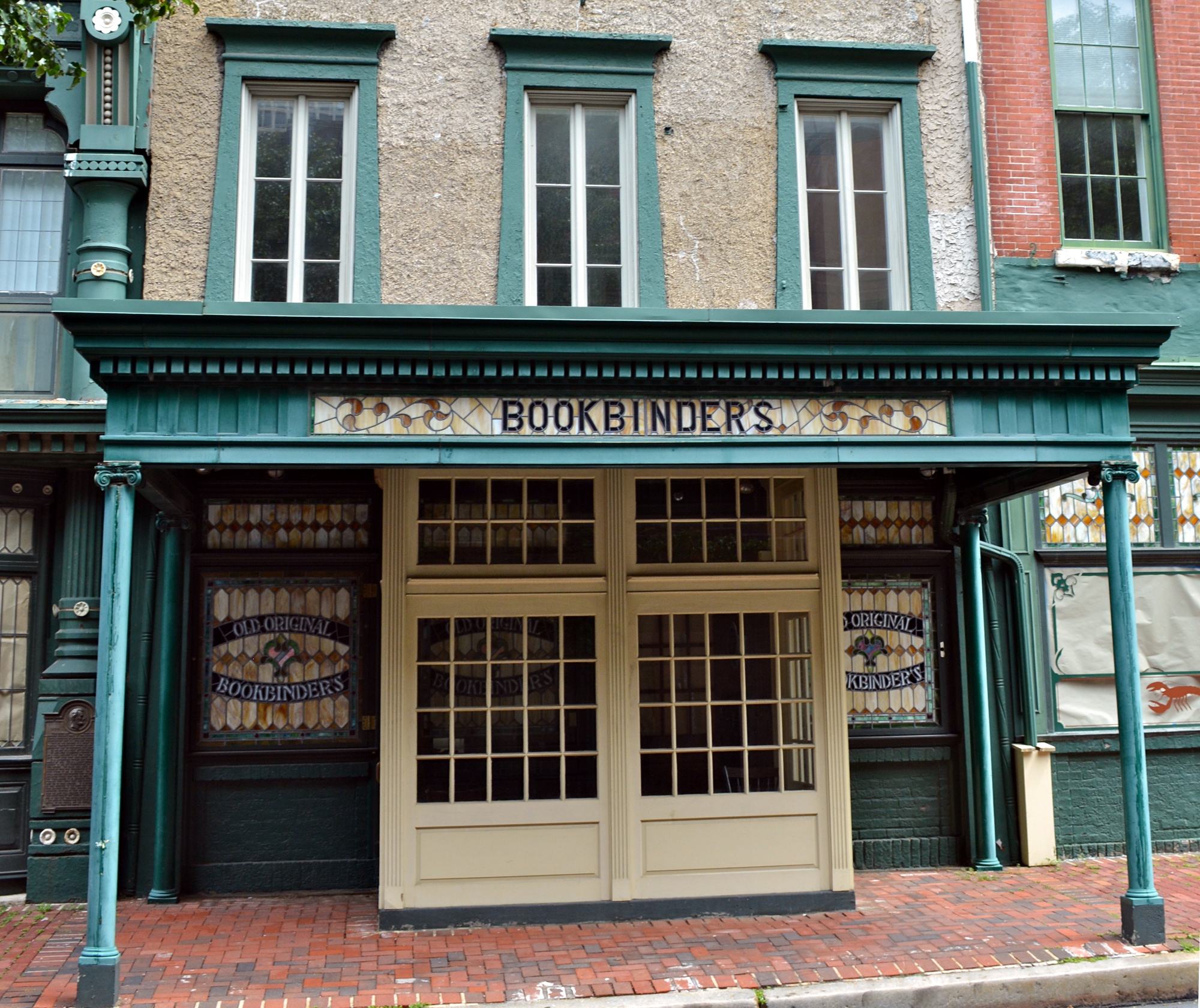 Bookbinder's, before the rehab was completed.