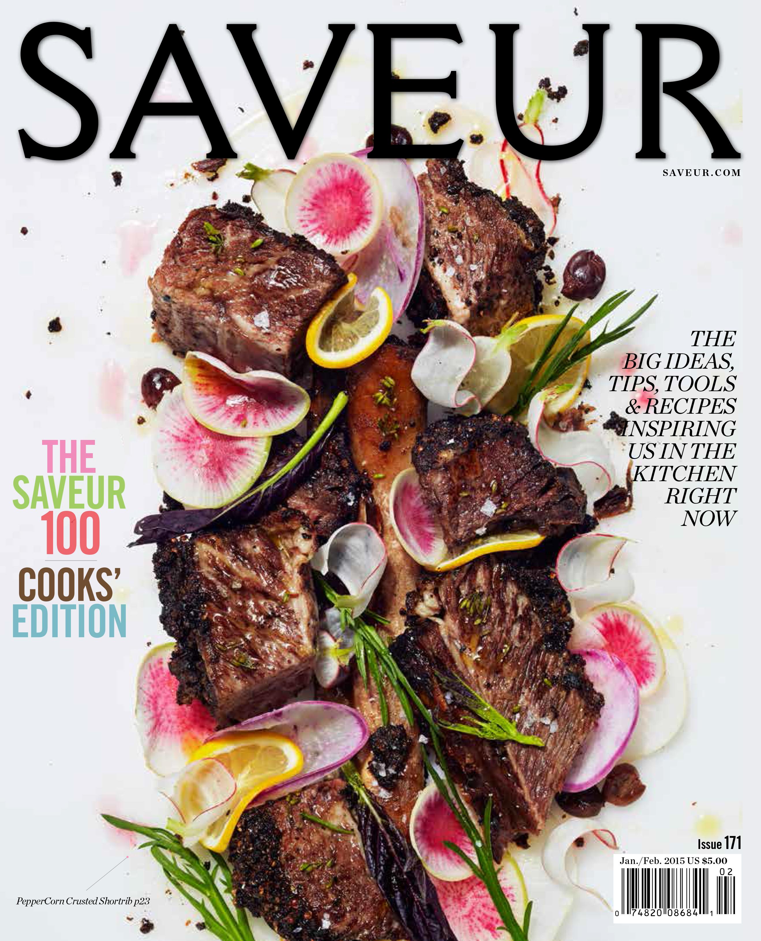 A Sneak Peek at the Saveur 100, on Newsstands December 23