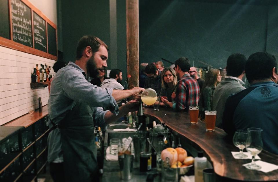 Small Brewpub is open for biz.