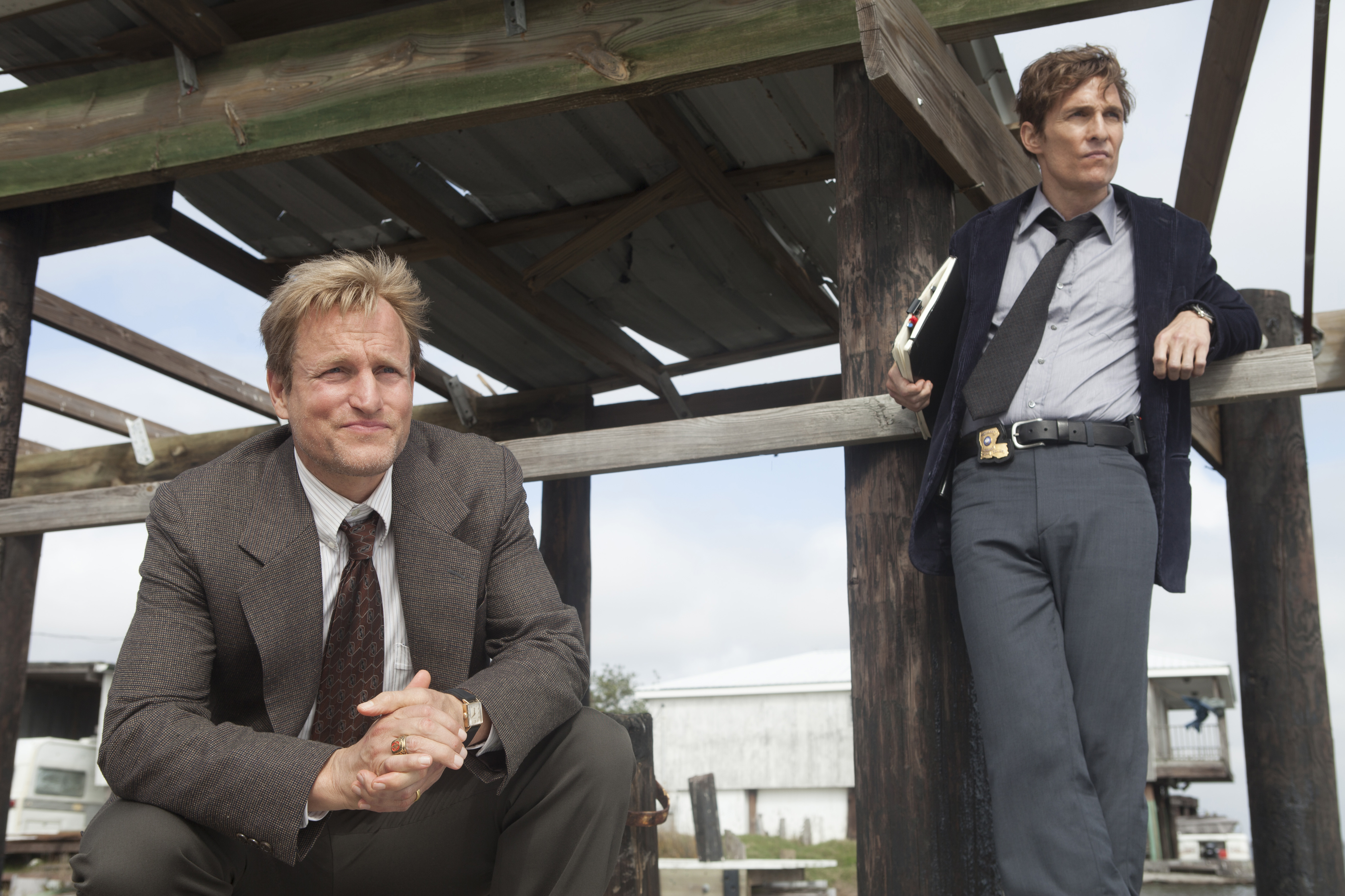 Woody Harrelson and Matthew McConaughey starred in the first season of True Detective. They were great. As you'd expect.