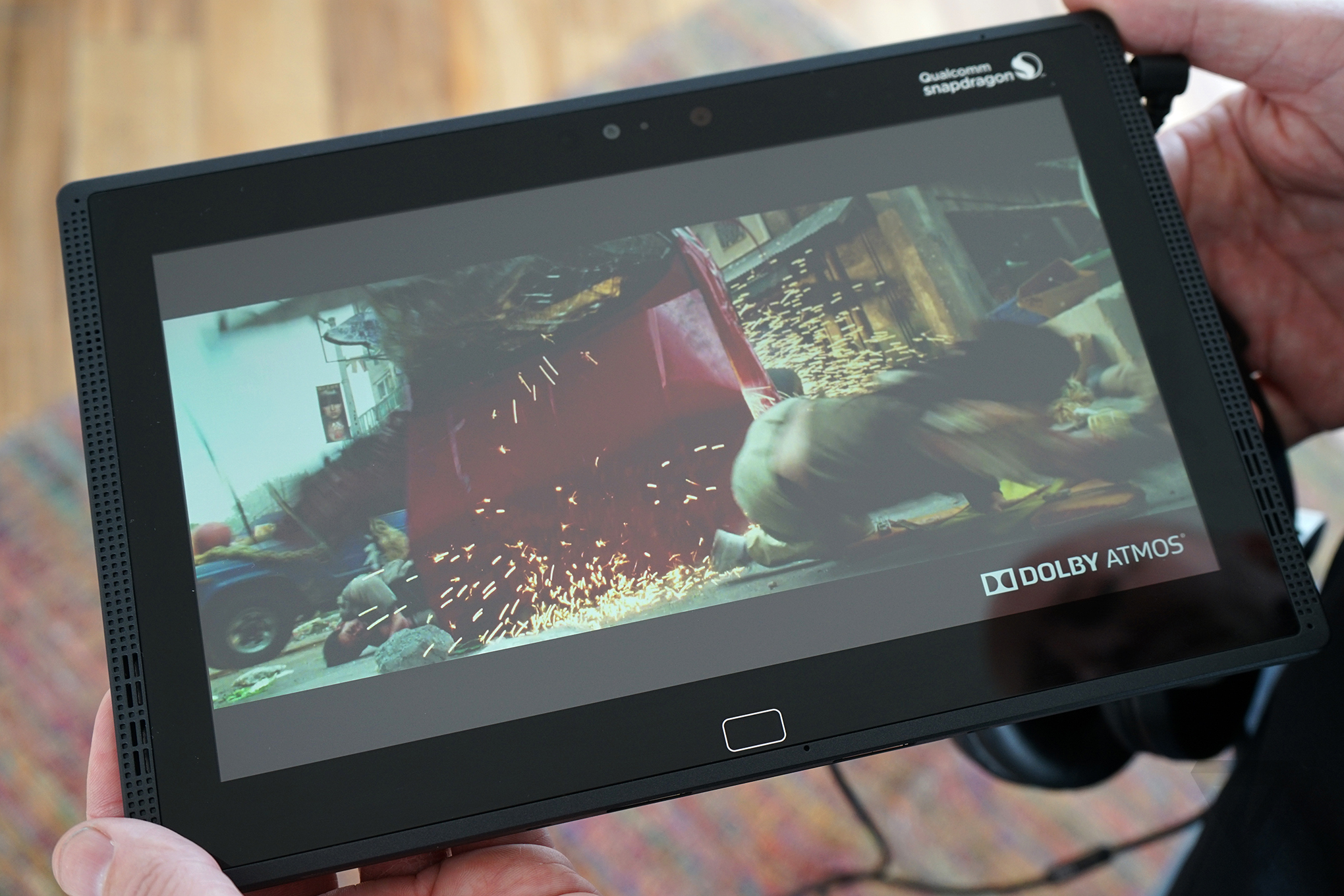 Qualcomm's Snapdragon 810 demo tablet