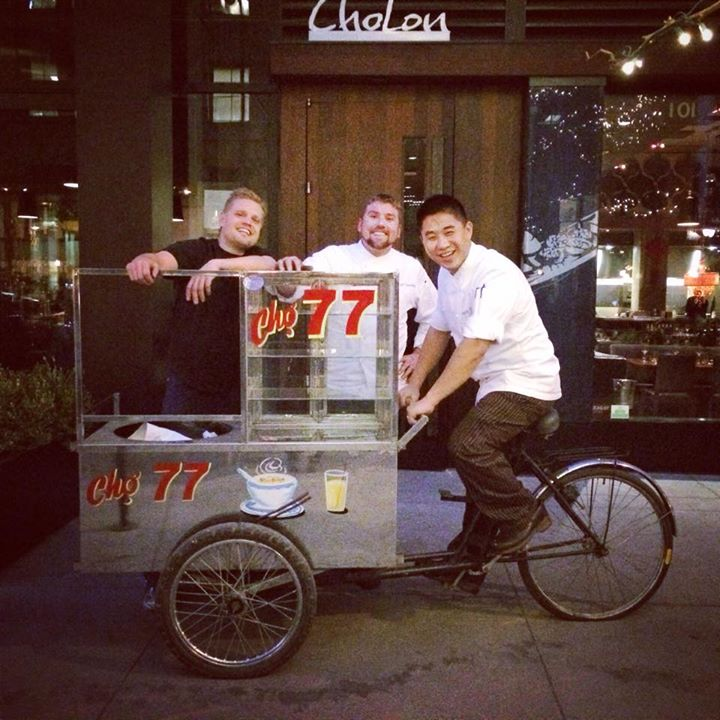 Upcoming Cho77 Gets Authentic Vietnamese Street Food Cart