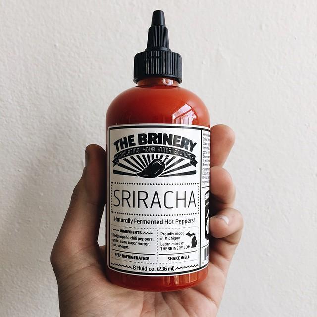The Brinery's sriracha.