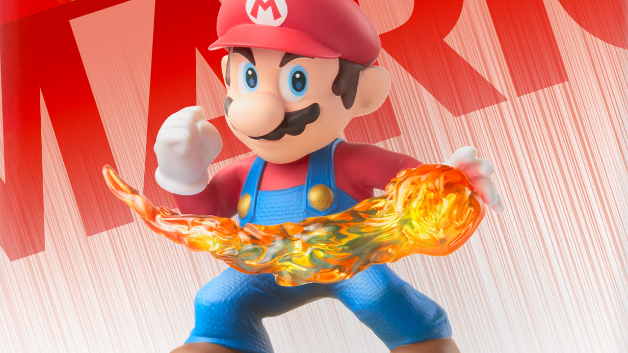 Nintendo's amiibo toys now being supported by third-party games