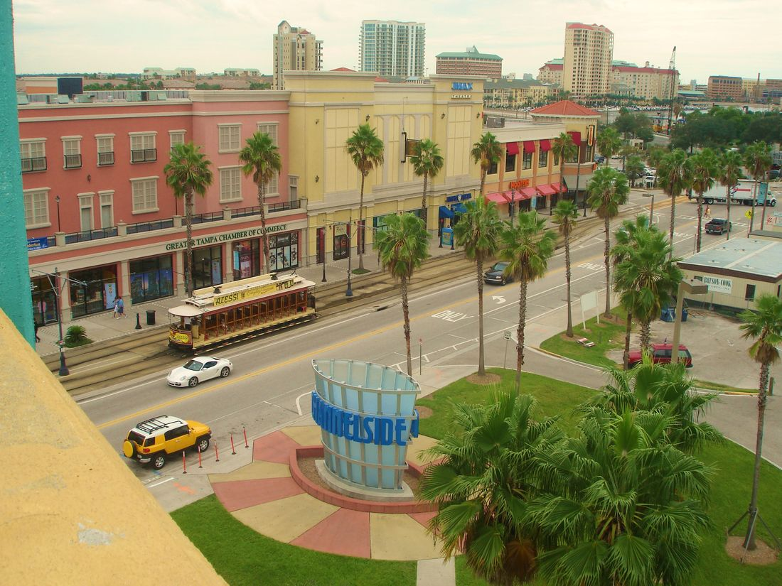 This view of Channelside Bay Plaza nolonger exists / is now obstructed.